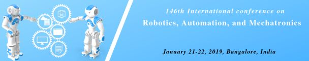 IOSRD-146th International Conference on Robotics, Automation, and Mechatronics