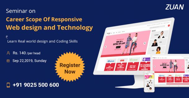seminar on career scope of responsive web design and technology